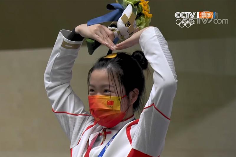 奥运第一金!飞乐思祝贺杨倩精准夺冠!