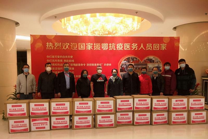 飞乐思捐价值百万产品致敬武汉一线医护人员