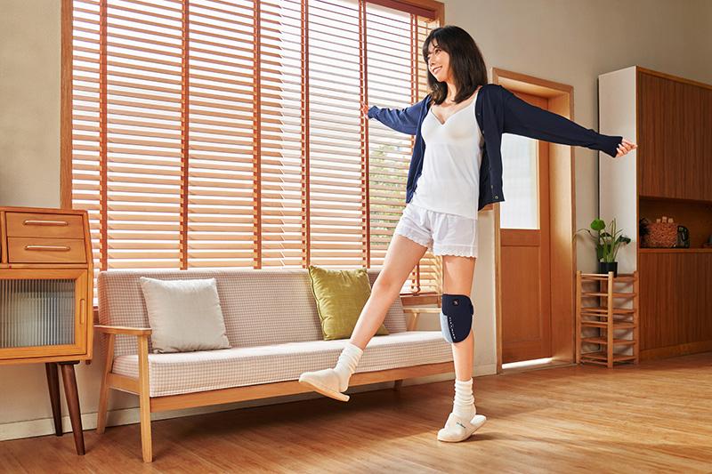 时尚护膝带